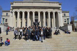 Επίσκεψη στη Βιβλιοθήκη του Columbia